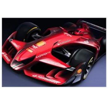 フェラーリがF1コンセプトカー.JPG